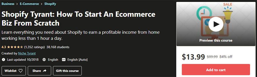 Best Shopify Courses