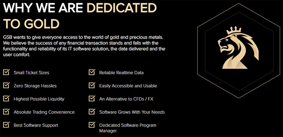 GSB Gold Standard Group Review