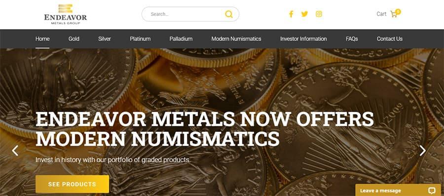 Endeavor Metals Group