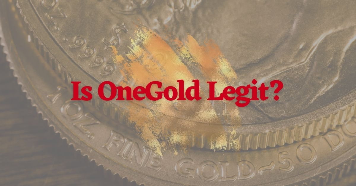 Is OneGold Legit?
